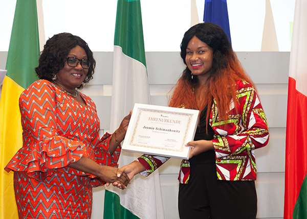 HER EXCELLENCY AMBASSADOR GINA BLAY ATTENDS THE 8TH AFRICA YOUTH EDUCATION AWARDS IN HAMBURG