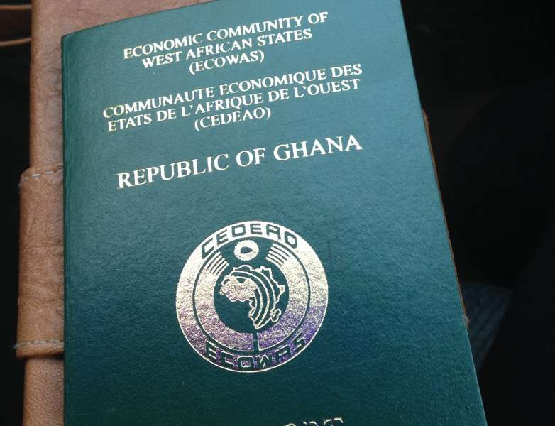Passport The Embassy Of The Republic Of Ghana Berlin Germany