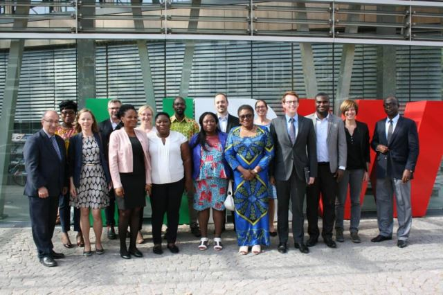 AMB. GINA BLAY MEETS WITH THE GHANAIAN-GERMAN DELEGATION ON THE ADMINISTRATIVE EXCHANGE PROGRAM BETWEEN GHANA AND THE FEDERAL STATE OF NORTH RHINE-WESTPHALIA