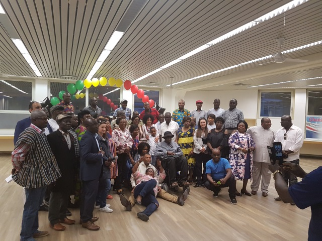 H.E. AMB. GINA BLAY ATTENDS UGAG NRC MEETING, MEETS GHANAIAN COMMUNITY IN MANNHEIM, 19TH MAY, 2018