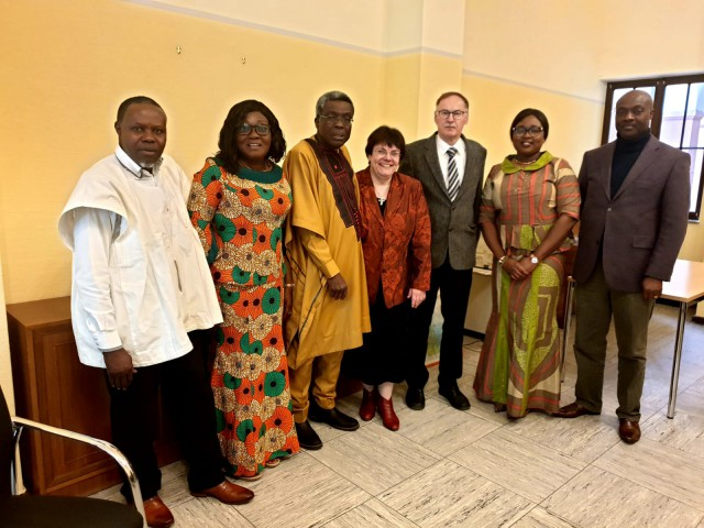 HER EXCELLENCY GINA BLAY ATTENDS THE UGAG NATIONAL REPRESENTATIVES COUNCIL MEETING IN WORMS