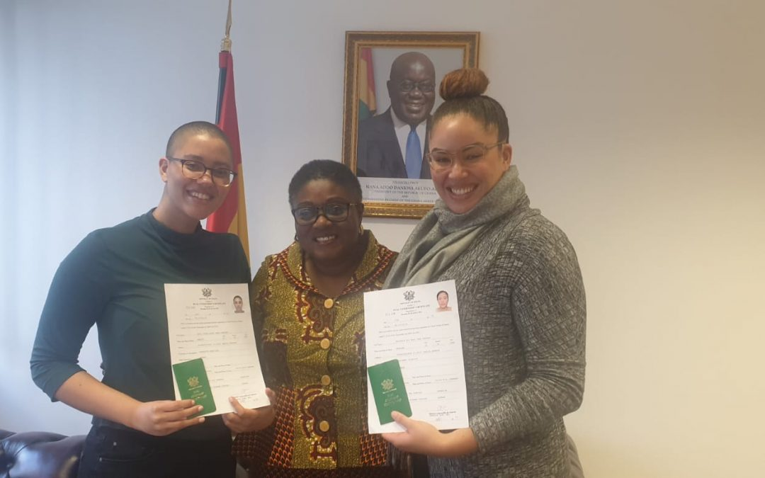 BERLIN MISSION GHANA STARTS ISSUING THE DUAL CITIZENSHIP IDENTITY CARD
