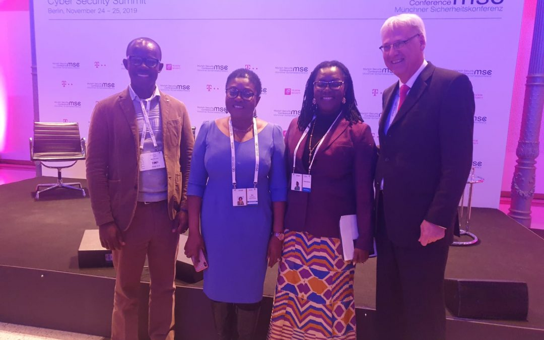 HON. URSULA OWUSU-EKUFUL, MINISTER FOR COMMUNICATIONS, PARTICIPATES IN THE CYBER SECURITY SUMMIT AND THE INTERNET GOVERNANCE FORUM, 24TH TO 25TH NOVEMBER, 2019, BERLIN