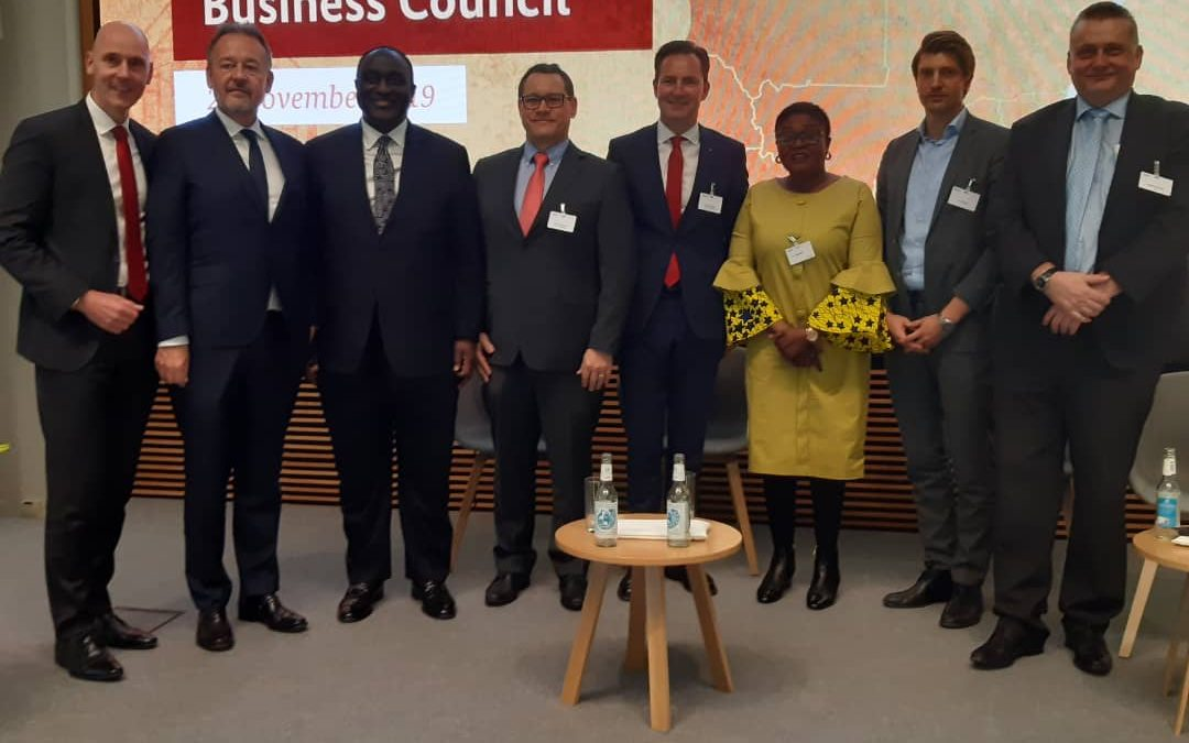 Minister of Trade and Industry, Hon. Alan Kyeremanten in  Berlin for the 1st Session of the German-Ghana Business Council.