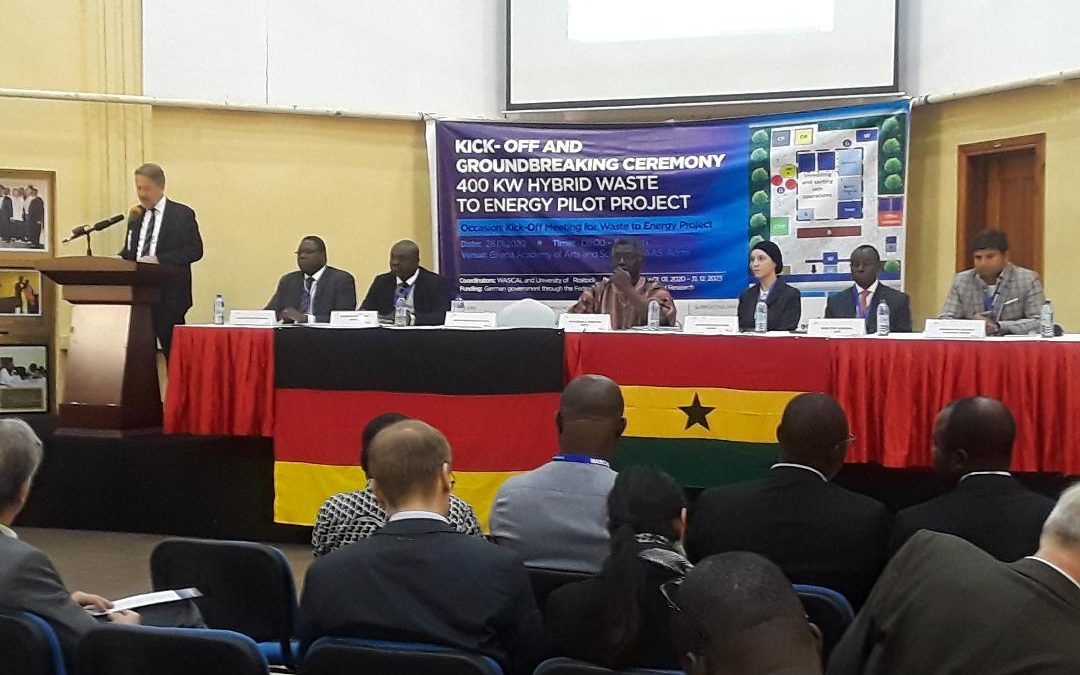 Ghana and Germany set to construct 400KW Waste to Energy Plant